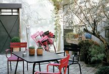 courette parisienne / joli patio / by Claire Lelong-Le Hoang