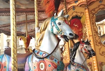 Carousel Horses / by Dawn Studley