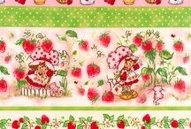 Strawberry Fruitcake Fabric / by Tink Bastian