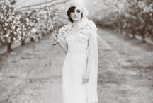 Black & White Style / Beautiful Black & White wedding portraits and images..... / by MagnoliaRouge