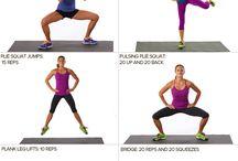 Workouts / by Stephanie Webber