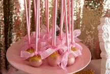 Pink And Gold Party Ideas / by Scarlett A. Rivera