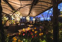 """NYC summer dining / Dine with a waterfront or rooftop view, enjoy a romantic lunch date in a """"secret garden"""" or sit back and relax with eats at the beach.  / by amNewYork"""