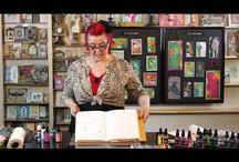 Art Tutorials with Dyan Reaveley / by Patricia Boyd