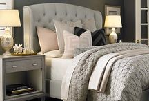 My bedroom ideas. Serene. Elegant. Chic. Tufted Headboards... / My dreams / by Karen Me