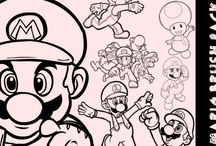 Mario Fun (any video games) / cute ideas to do with my kids fav video games and characters / by Rebekka Smith