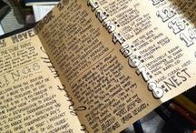 *O. Journaling - written / Journal prompts, beautiful journals, and creative ideas for journaling. / by Kimberly Myer