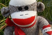 Sock Monkey Love / by See Vanessa Craft