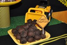 Construction Site Party Ideas / by Amy {fun-baby-shower-ideas.com}