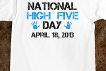 National High Five Day / Sanford-Burnham is proud to be, for the second year, a beneficiary of National High Five Day. Give high fives and raise money for cancer research! http://www.stayclassy.org/events/national-high-five-day-2013/e22049 / by Sanford-Burnham Medical Research Institute