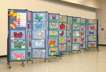 Ideas for Artwork Displays and Art Exhibits / Students love to see their artwork on display for their parents and classmates. / by Portable Dividers & Art Displays