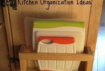 kitchen organization / by Amy Brown