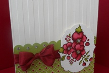 Bordering on Romance-Stampin Up / Cards using Bordering on Romance card set / by Sue Richardson