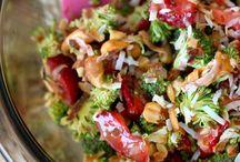 Food: Salads / by Kathleen Ellis
