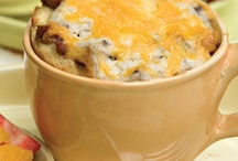 Egg dishes and casseroles for breakfast / by Brenda Muller