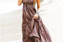 long flowing summer dresses / by Debbi Morden Tearoe