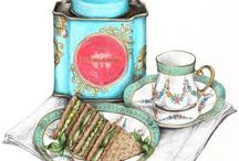 ☕Tea Time Luxuries / Skip That Nap.; Have An Afternoon Tea  / by Anamika アナ
