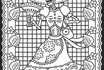 Art:  Coloring Pages / by Lisa Simmons