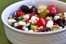 salads / by Rachelle Davis