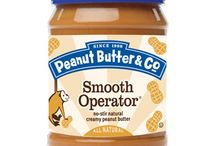 Peanut Butter Jars / Peanut Butter & Co. is dedicated to bringing you the most delicious all-natural peanut butter in the world. We never use partially hydrogenated vegetable oil or high fructose corn syrup, and all of our products are made with 100% USA-grown peanuts! / by PeanutButterCo