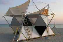 CCA : tents / by lizzie hunter