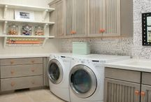 Laundry & Craft Rooms / by Holly Rixie