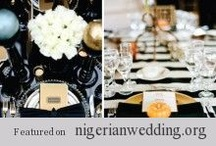 Place Setting Ideas / A beautiful place setting, is another way to make an impression on your guests. There's no doubt that the place setting is one element of beauty that every guest at your wedding reception get to see. Knowing that your guest will be spending a considerable amount of time sitting at the dinner table, I believe is crucial that the design of each place setting stands out and is well played into your wedding theme and colours. So, we have put together more place settings idea with bold colors! / by Nigerian Wedding
