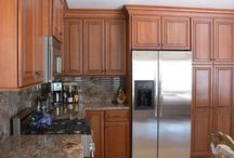 Modern Kitchen Styles / by Rebecca Sprouse @ The Copper Brick Road