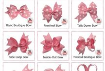 hairbow how to's / by Bridgett Mosley