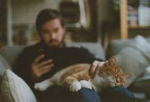 Men and animals / Yoi gotta love men who love animals! / by Melissa Erickson