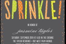 sprinkles & showers / by Ashley Duesler
