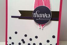 Cards - A Happy Hooray / by Margaret Raburn