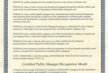 Awards & Honors / by KU Public Management Center