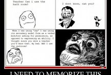Rage Comics / by Kelsey Cain