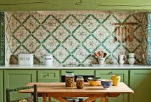 Green Kitchen Inspiration / by Sandra Moses