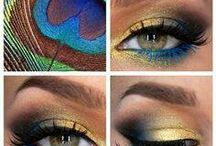 Make Up Inspirations / Nails, Hair, Make-up, and Beauty How-Tos / by Tanya White