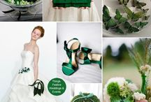 Emerald Green Cupcake Wrappers & Party Décor | Bella Cupcake Couture / by Bella Cupcake Couture