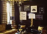 LACQUER LOVE / Lacquer. Dramatic rooms. Amazing rooms / design inspiration / beautiful rooms  / by South Shore Decorating