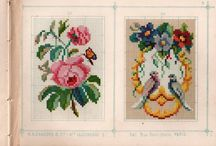 Berlin Woolwork Alexandre / Alexandre, Sajou, and Rouyer were the largest embroidery publishers in 19th-century France. Alexandre booklets tend to repeat designs. / by Laura Jones