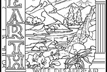 "Bible Coloring Pages / I have always loved to color and I think most kids do too. The web is overflowing with great Bible coloring pages to go along with any Bible story or Scripture. This board will showcase creative Bible coloring pages for your children. (Want to learn more about my ministry, ""The Scripture Lady""? Then go to www.scripturelady.com) / by Scripture Lady - Kathy Vincent"