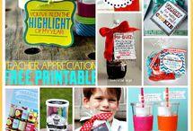 Teacher appreciation!! / by Savannah Englehart