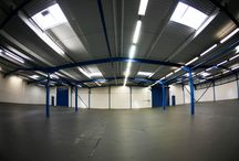 Awesome Merch Empty New HQ! / We are moving in January to a brand new custom spec warehouse, ready to improve our service for 2014!   Here's some pictures of the warehouse before we moved in! / by Awesome Merchandise