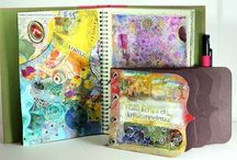 Art Journal, Mixed Media, Collages2 / by Lizzy Wurmann