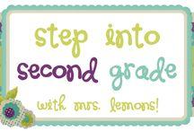 2nd Grade! / by Melissa Sutton