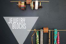 Jewelry Storage and Display / by Kimberlie Kohler Designs