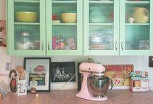 Vintage kitchen renovation / by Kelly Thomasson Ketterer