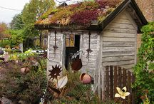 Garden Sheds / by Vicki Tortorella