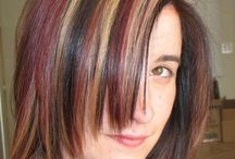 hairstyles and color / by Brittani Chin