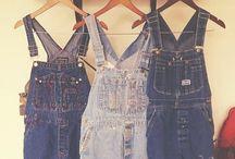 Dungarees :D / Long, short, plain, patterned, I love 'em!!! / by Jessica Illman