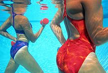 swimming / by Sabrina Parnell